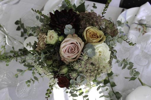 30beab8685e4 Blomster til vores bryllup -